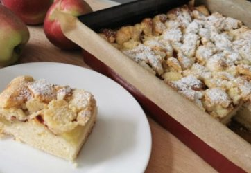 Średni - Ciasto z jabłkami i kruszonką 11