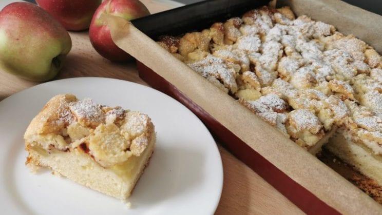 Sweet Idea - Ciasto z jabłkami i kruszonką 1