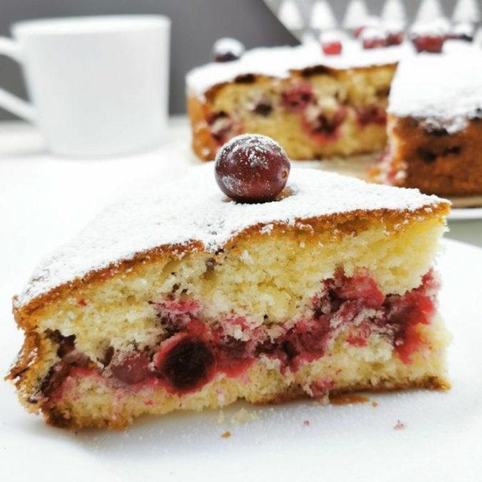 Sweet Idea - Ciasto z żurawiną 1