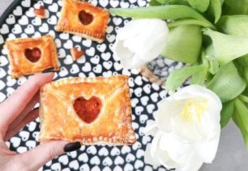 Sweet Idea - Listy walentynkowe - ciasto francuskie 14