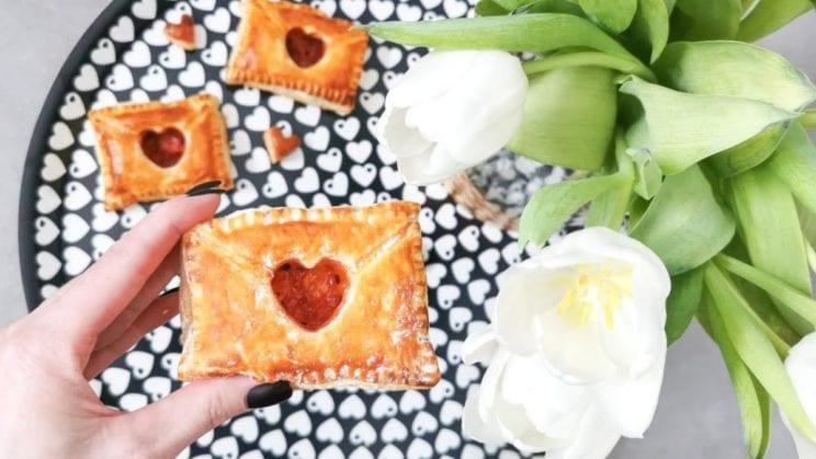 Sweet Idea - Listy walentynkowe - ciasto francuskie 1