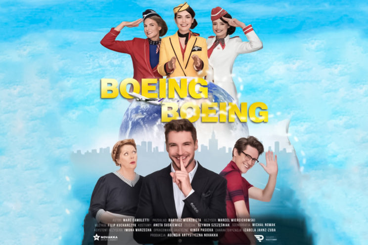 Wydarzenia - Boeing Boeing - Poznań / Wrocław / Dąbrowa Górnicza 3