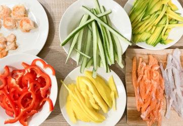 90 min - Domowe sushi 4