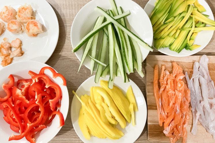 Healthy Food - Domowe sushi 1
