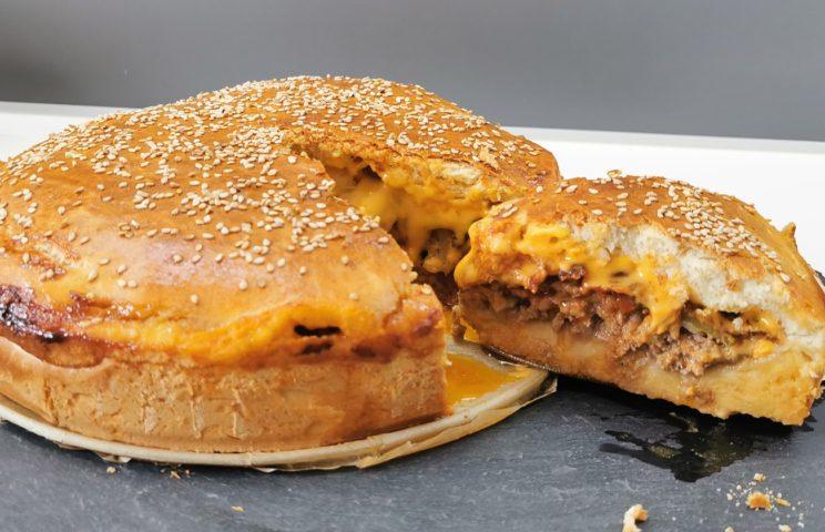 60 min - Domowy Hamburger XXL 1