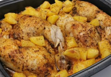 Łatwy - Udka z kurczaka zapiekane z kapustą i ziemniakami 2