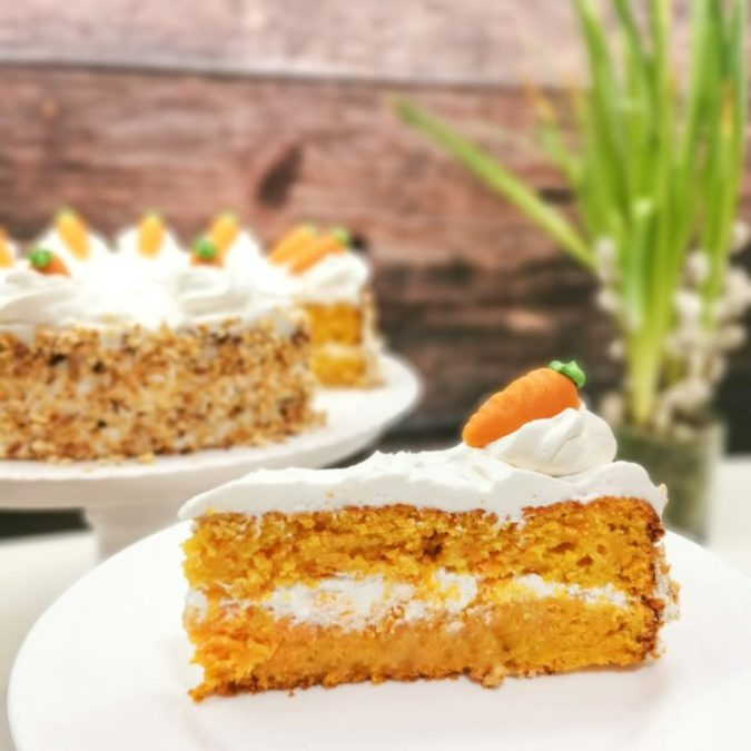 Sweet Idea - Ciasto marchewkowe 1