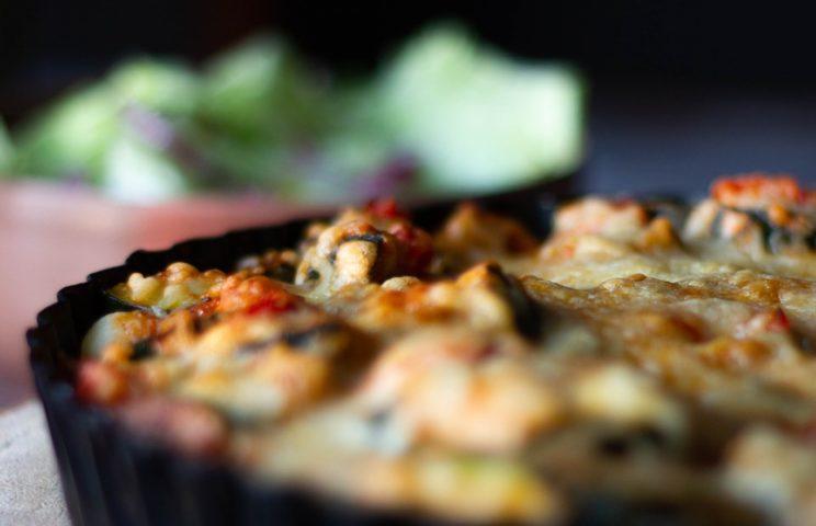 Pozostałe przepisy - Zapiekanka z tortellini, kurczakiem i warzywami 1